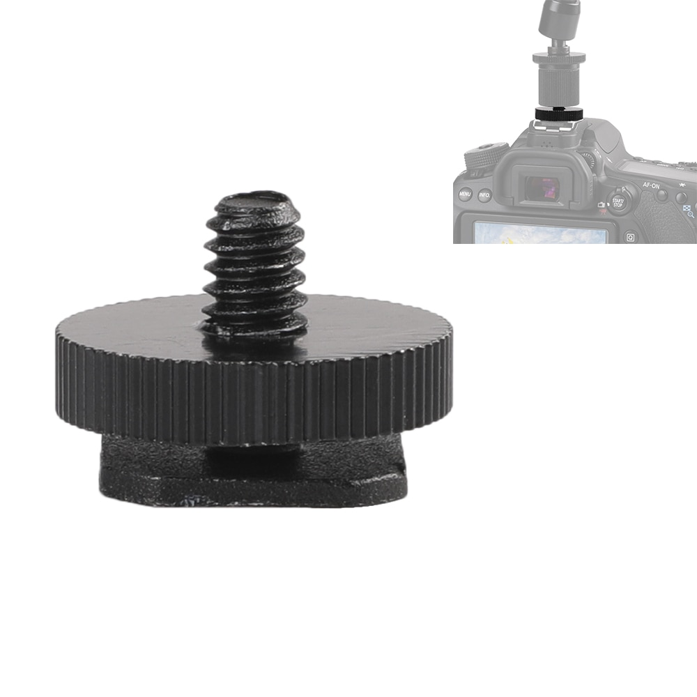 "Camera Accessories 1/4"" inch Single Layer Flash Hot Shoe Mount For Canon/Nikon/Sony/Yongnuo DSLR Photo Studio Accessories"