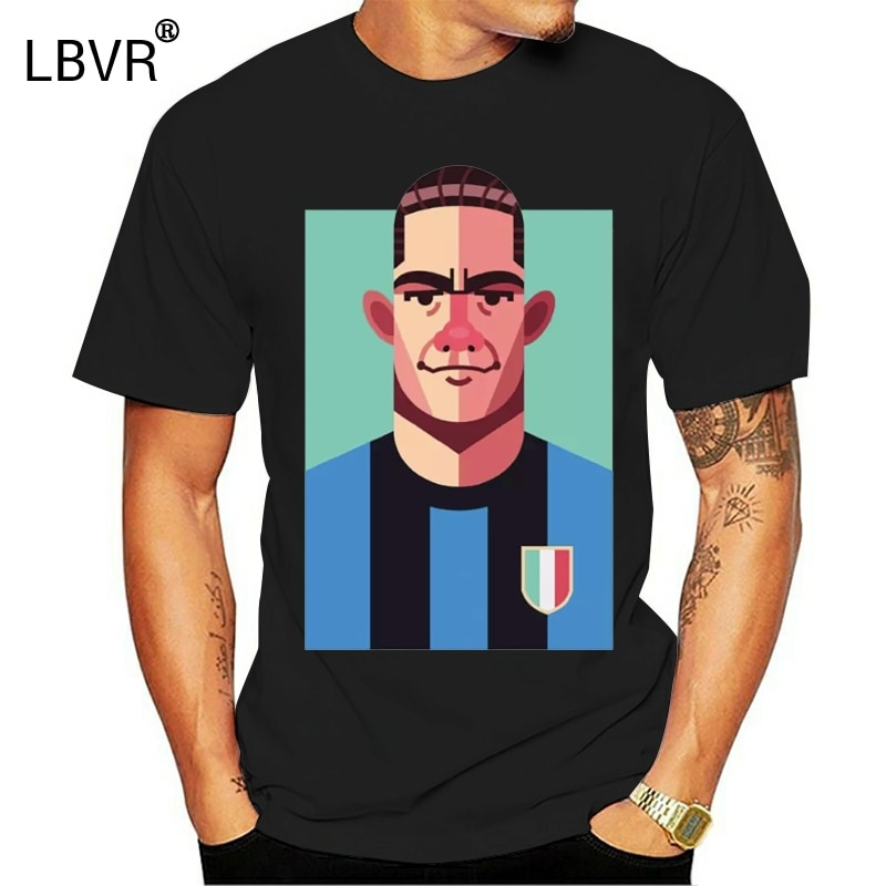 Новая футболка MEME LUIS SUAREZ GRANDE INTER HERRERA CALCIO VINTAGE AMALA - 1
