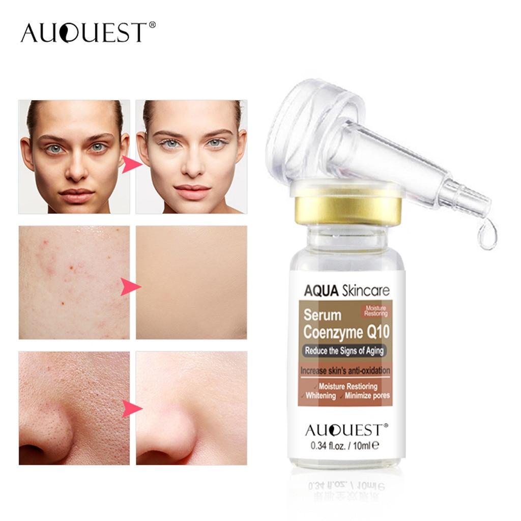 Solución esencial para reafirmante de pecas, suero hidratante de poros, blanqueamiento en esencia, crema facial antiarrugas, tratamiento para el acné