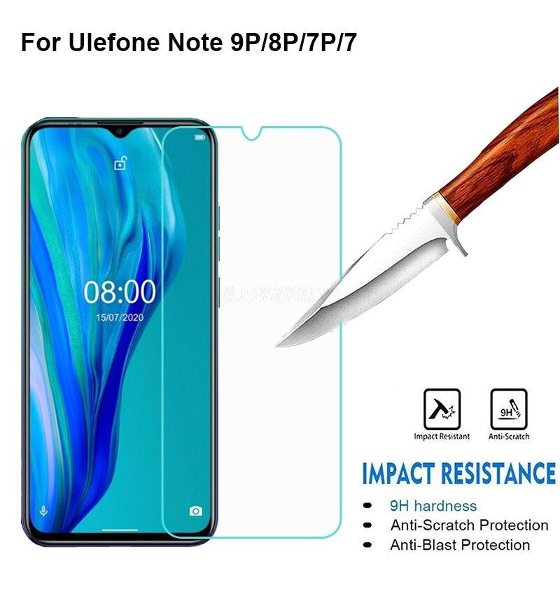 3-1 Uds vidrio Templado para Ulefone Nota 7P 8P 9P 9P Protector...