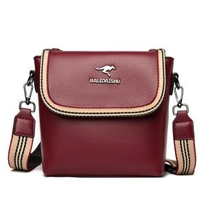 2021 Casual Small Shoulder Bags for Women Famous Brand Soft Leather Crossbody Bag Women Messenger Bags Designer Luxury Handbags