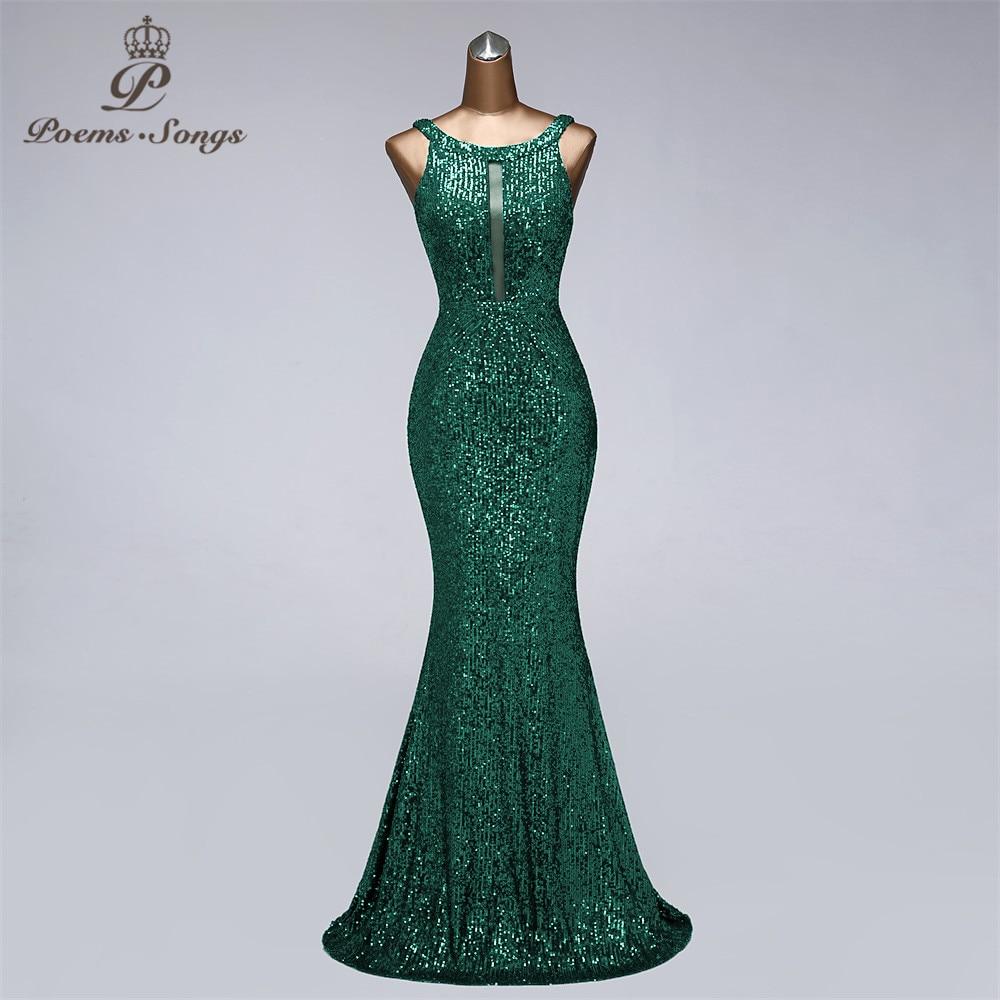 فستان سهرة مثير بتصميم حورية البحر مع ترتر ، صور حقيقية ، ثوب حفلة ، فستان سهرة أنيق