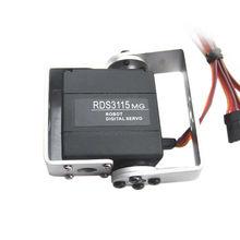 RDS3115MG 15KG Grande Coppia di 180 Gradi Biassiale Servo Digitale per RC Robot