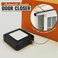 punch free automatic sensor door closer automatically close for all doors drawers rawstring door bracket door automatic closer