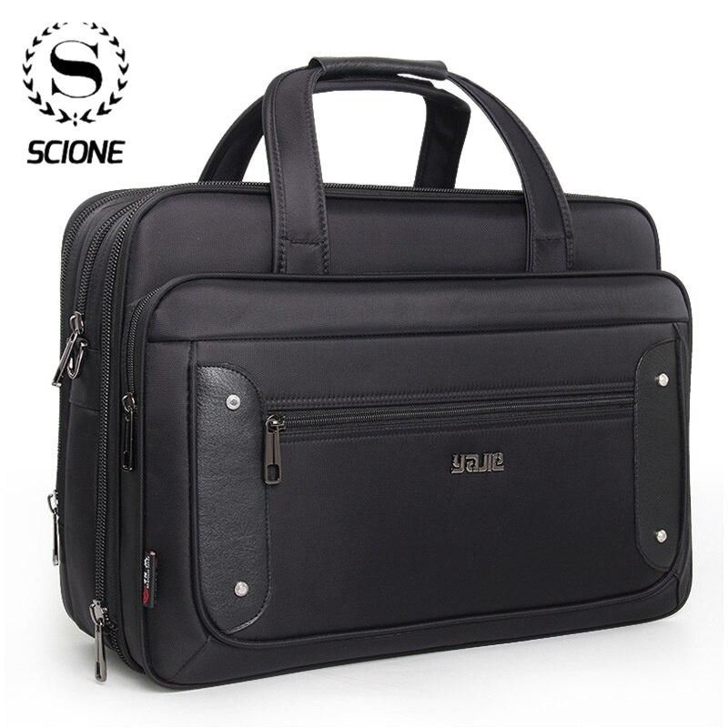 Scione رجال الأعمال حقيبة 2021 أعلى مستوى قدرة فائقة زائد حقائب النساء حقائب الكمبيوتر المحمول 16 17 19 بوصة حقيبة أكسفورد