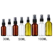 100/50/30ML rechargeable Portable huile essentielle liquide pulvérisateur vide atomiseur maquillage vaporisateur bouteille parfum verre bouteilles rechargeables