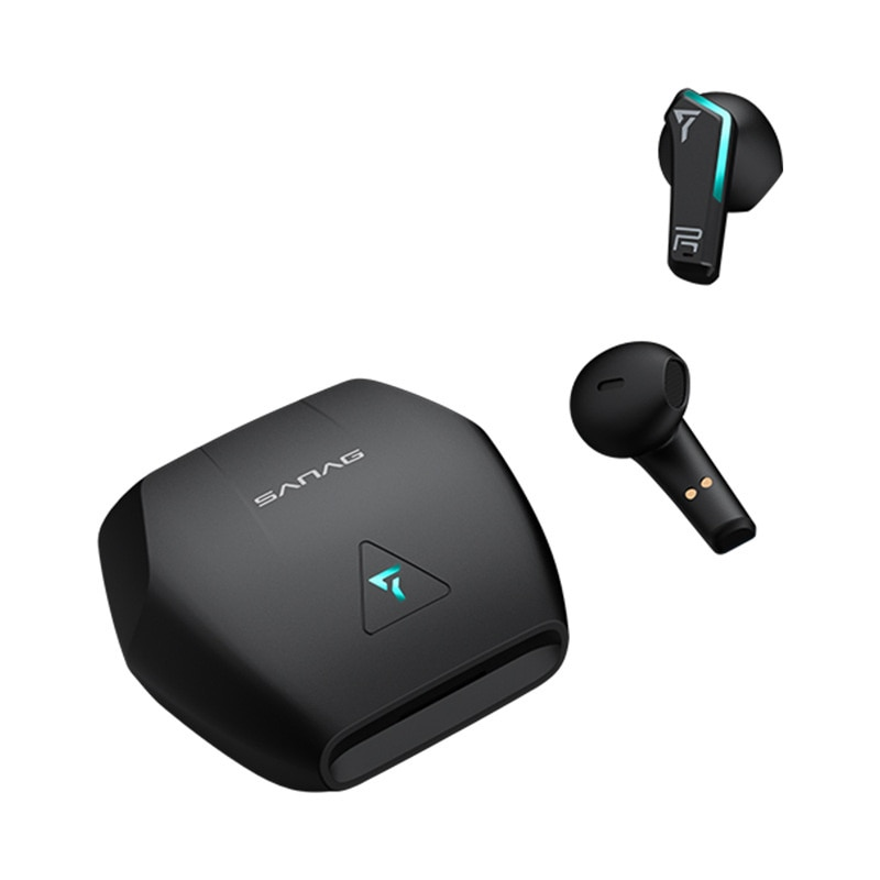 New wireless Bluetooth TWS headset 5.0 game stereo black Technology enlarge