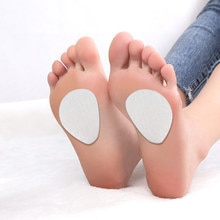 6/7/8/9Pair Non-Slip High Heel Front Palm Foot Care Shock Sweat-Absorbent Peach-Shaped Pad Female Sh