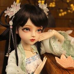 60cm artesanal 1/3 bjd boneca princesa chinesa bonecas articuladas antigo traje beleza vestir boneca conjunto completo meninas brinquedos presente