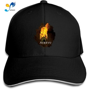 Women & Men Adjustable Baseball Caps 3D Printed Atreyu Sandwich Trucker Cap Unisex
