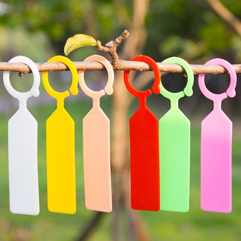 100buc / 10buc etichete portabile multifuncționale din plastic, - Produse de grădină - Fotografie 6