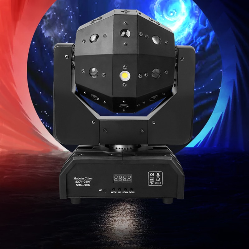Professional DJ Disco Ball Lights LED beam laser strobe 3in1 moving head football light DMX Nightclub party show stage lighting