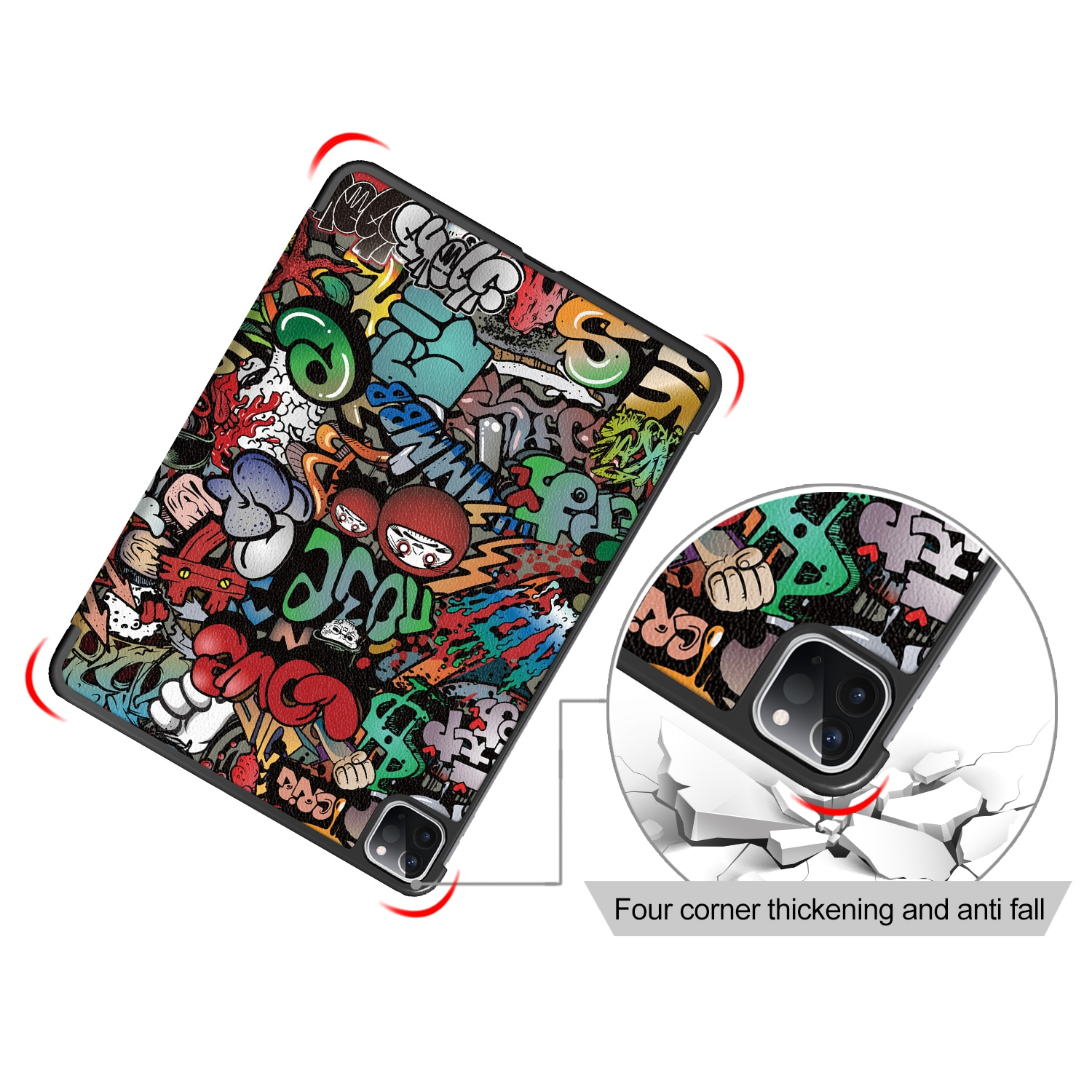 Case for NEW IPad Pro 11 2020 / 2018 PU Leather Smart Cover Folio Case Auto Wake Cover Case for New IPad Pro 11 enlarge