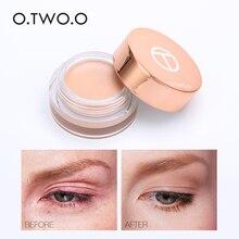 O. Dos. O 4 colores a prueba de agua herramienta de cosméticos de cara maquillaje profesional de imprimación de ojos Base de sombra de ojos de larga duración corrector de crema TSLM1