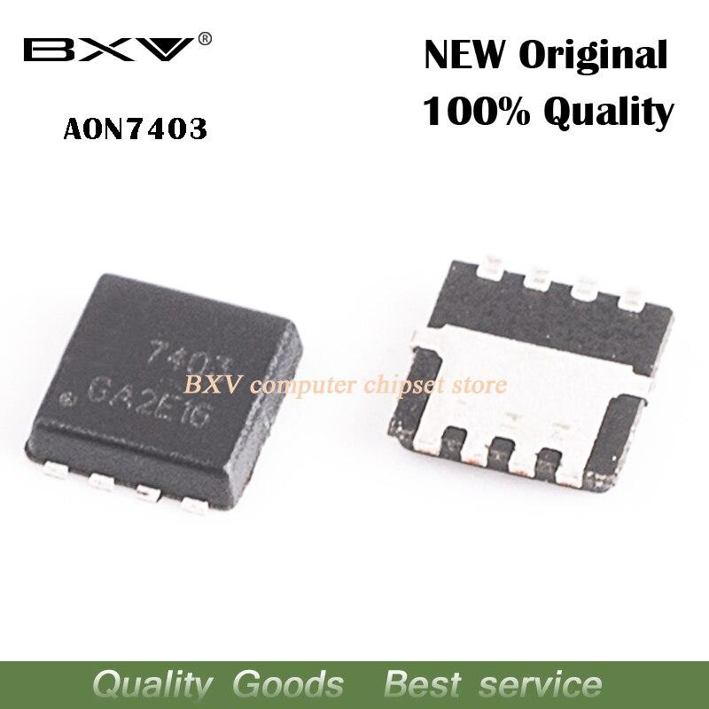 10 шт./лот AON7403 AO7403 7403 QFN MOSFET new