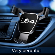 1pcs Car Air Outlet-Holder Mobile Phone Car Navigation Mobile Phone holders for phones For Audi S4 c