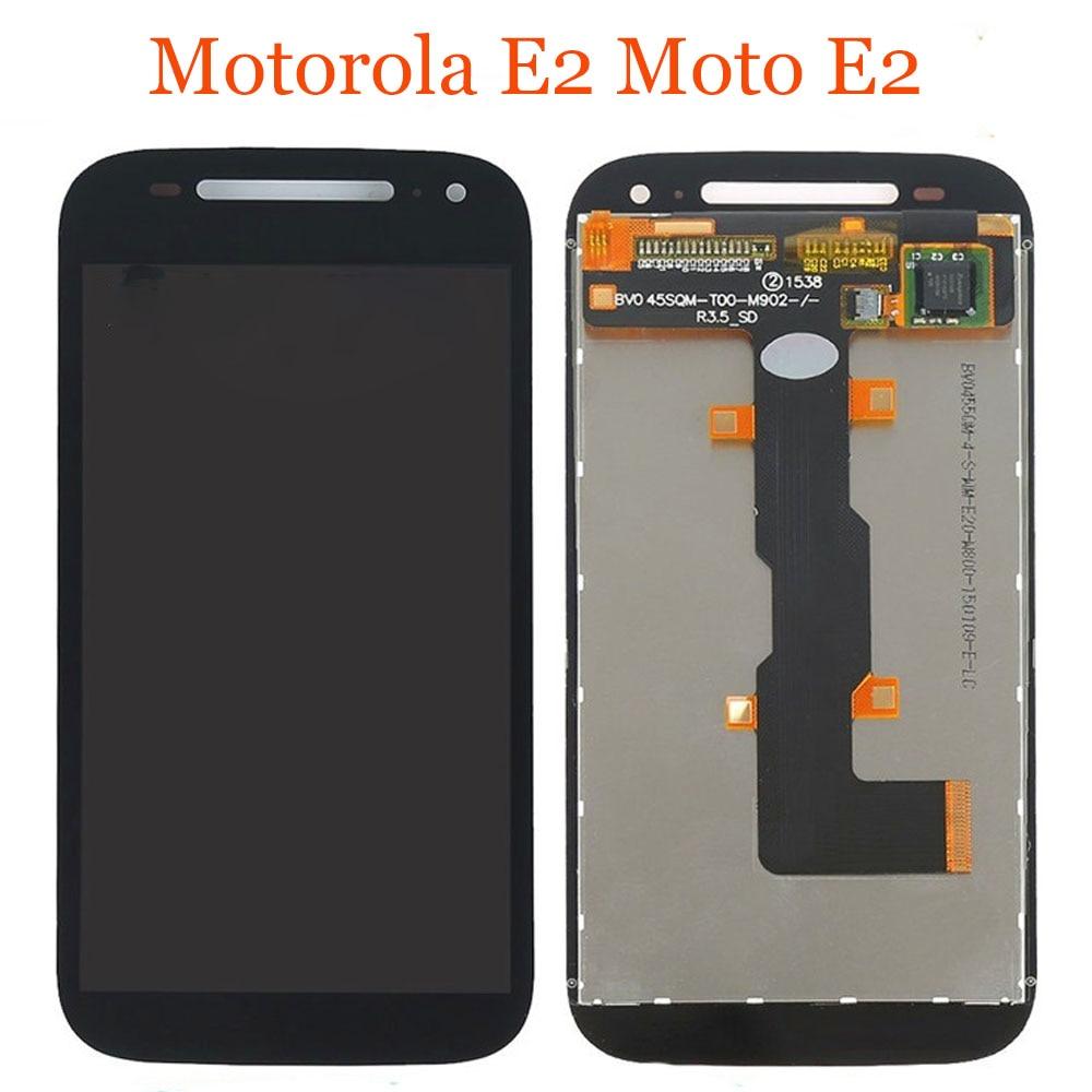 "For Motorola-E2 E 2 4.5"" LCD Display Touch Screen Digitizer Assembly For Moto E2 2nd XT1505 XT1524 XT1511 XT1527 LCD"