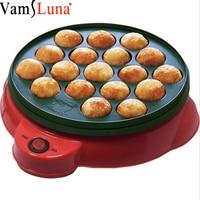 18 Holes Electric Takoyaki Pan Takoyaki Maker Aluminum Alloy Octopus Balls Grill Chibi Maruko machine Baking Forms Mold Pan Cook