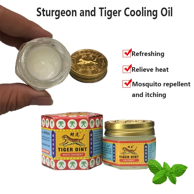 aliexpress.com - 100% Original Thailand Painkiller Ointment White Tiger Balm Ointment Muscle Pain Relief Ointment Soothe itch