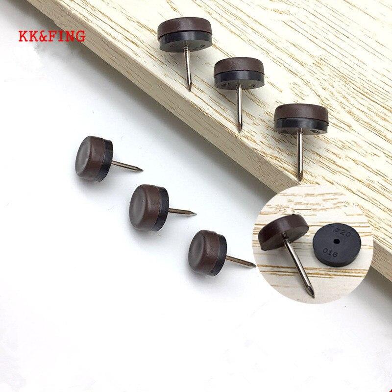 KK & FING 20 pièces chaise Table meubles jambe bas pieds patins en plastique patins dérapage clou bois plancher meubles protecteur tueur de bruit
