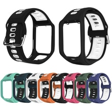 Wrist Band Strap for TomTom 2 3 Runner Spark Adventurer Golfer 2 Replacement Bracelet Soft Watchband