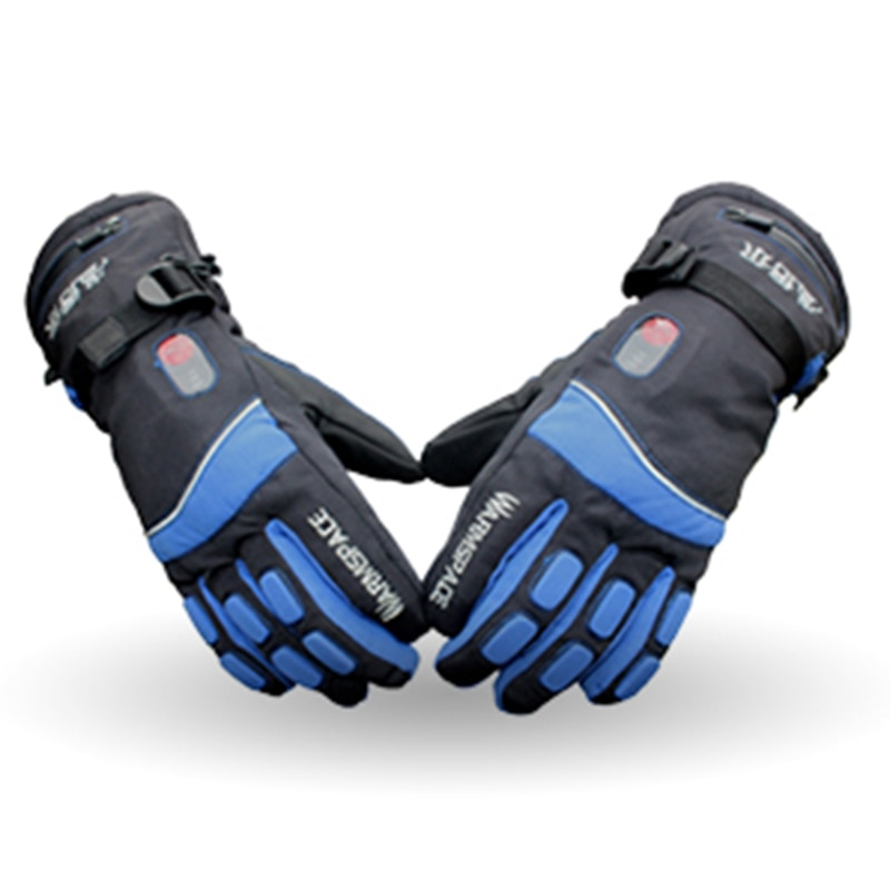 Warmspace 7.4V 4000MAH électrique Rechargeable chaleur gants Ski Lithium batterie hiver chaud gants chauffé pour Ski cyclisme équitation