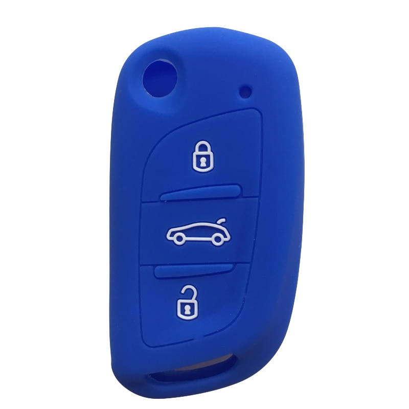 Modified Flip Key Cover for Peugeot 407 RCZ 307CC 306 807 Car Key Case for Car for Peugeot 3008 5008 Key Cover for Citroen C4