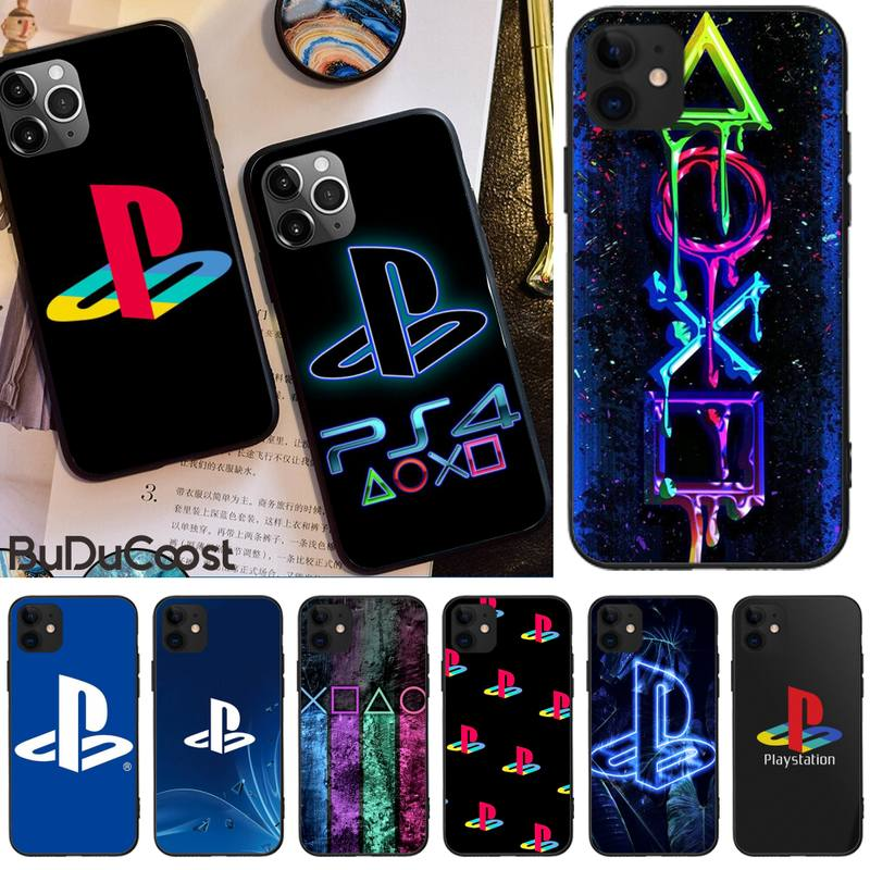 Hot game PlayStation PS Phone Case For iphone 12 pro max 11 pro XS MAX 8 7 6 6S Plus X 5S SE 2020 12Mini XR case