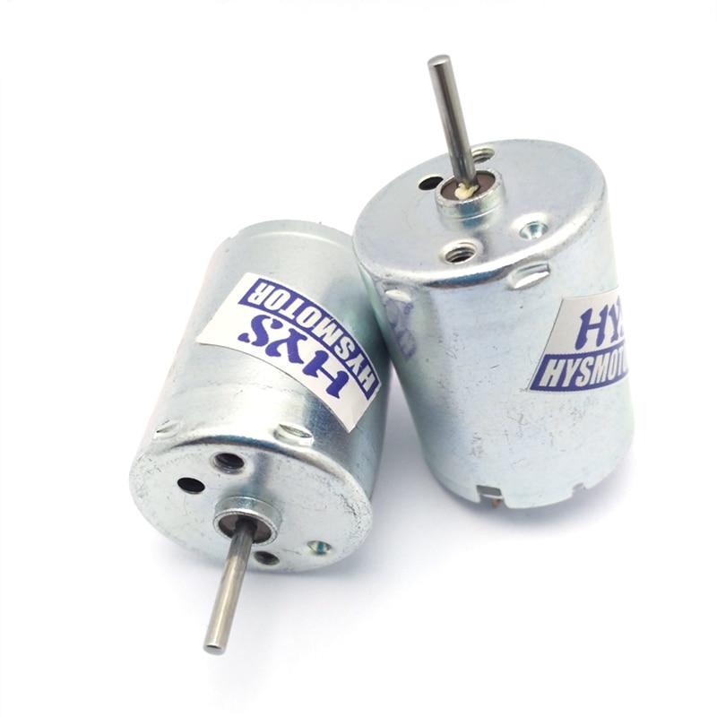 Mini motores elétricos de alta velocidade dc 6 v 12 v 18v 3800/7700/11600rpm 12 volt 6 v micro pequenos brinquedos diy modelo RK-370CA-18260