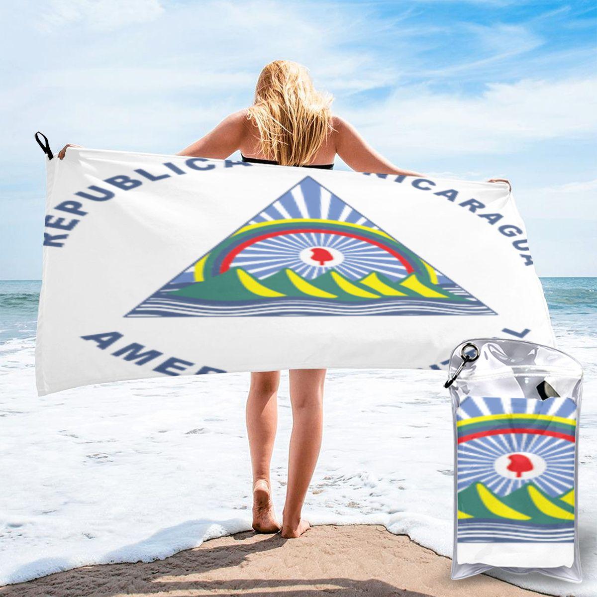 Toalha de Praia Toalhas de Banho Nicarágua Grande Piscina Mulher Gigante 1418
