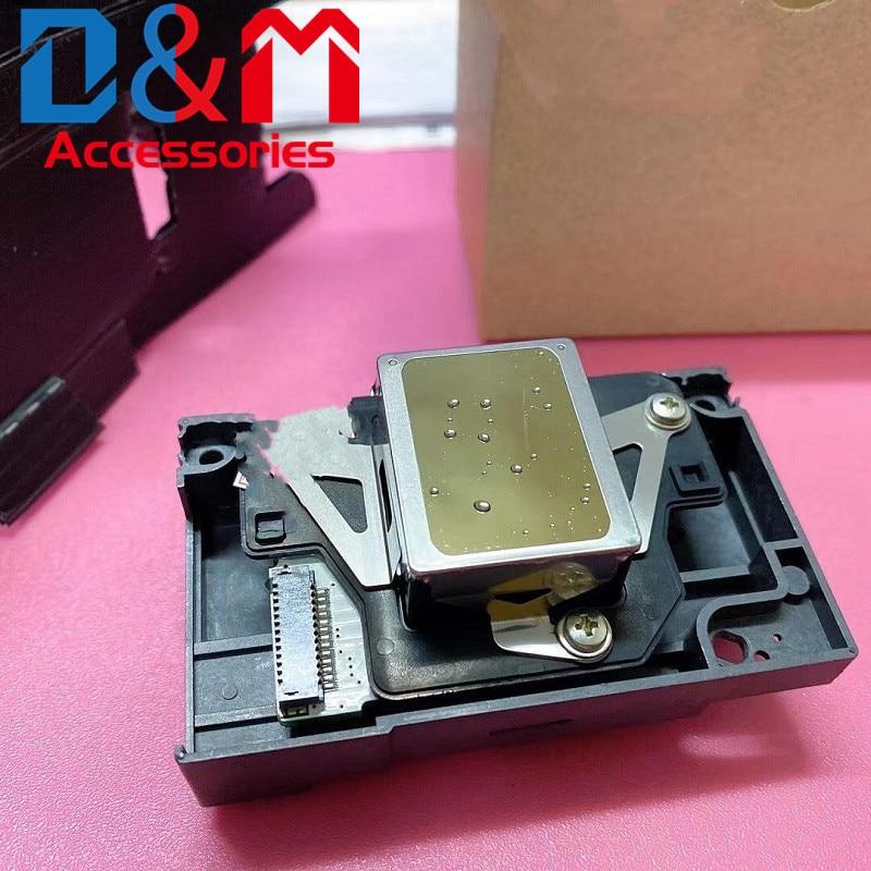1 قطعة طابعة أصلية رئيس F180030 F180010 F180000 F1800400030 رأس طباعة إبسون L1100 L800 L801 L805 PX660 650 R290 PX1001
