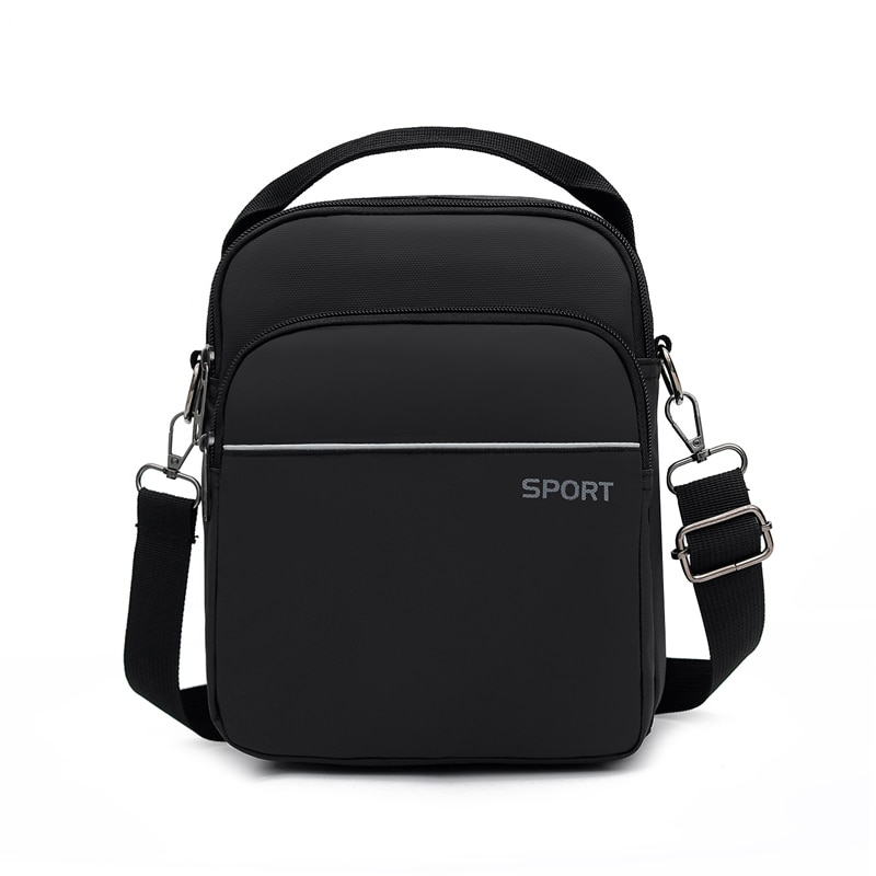 2021 New Men's Bag Waterproof Nylon Casual Business Handbag Sports Backpack Single Shoulder Bag Messenger Bags Crossbody Bags fashion trend casual lychee pattern backpack 2020 college suede small backpack single shoulder bag messenger handbag