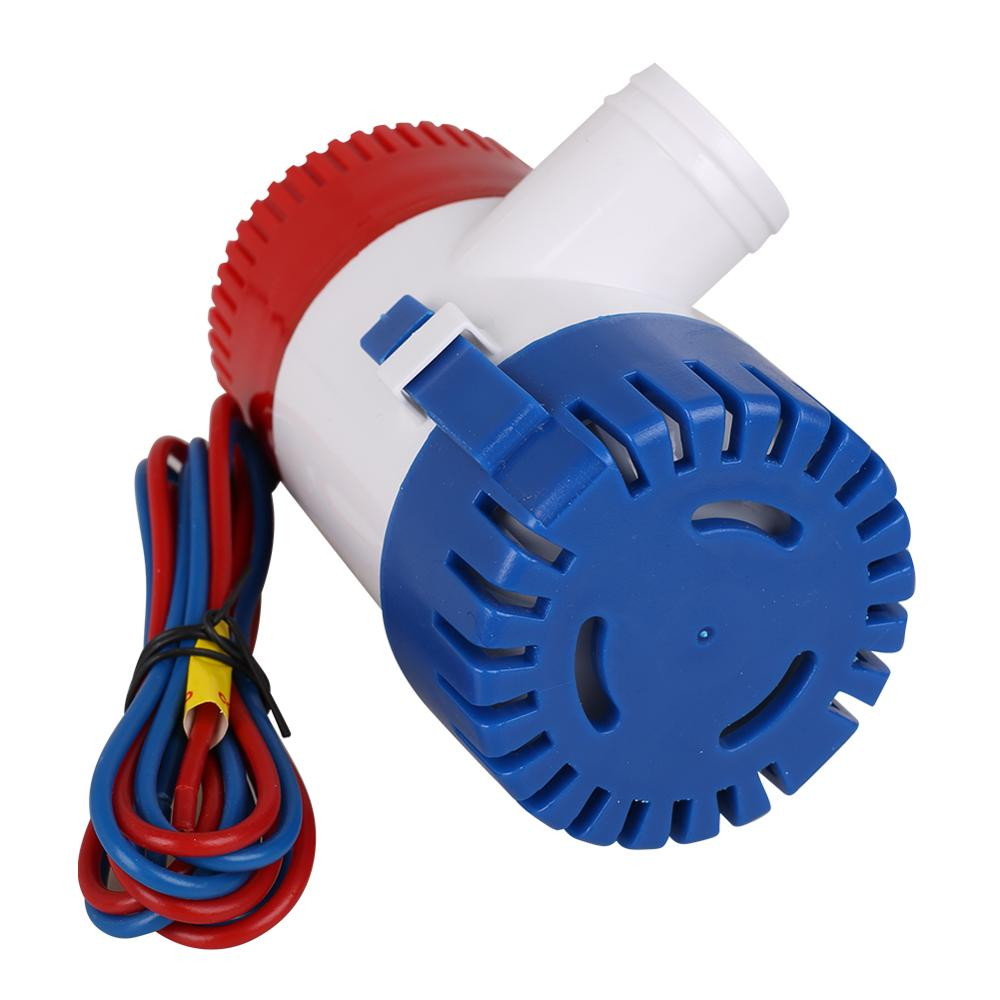 Bilge Pump  1100GPH DC 12VV Electric Water Pump For Aquario Submersible Seaplane Motor Homes Houseboat Boats Car Accessories enlarge