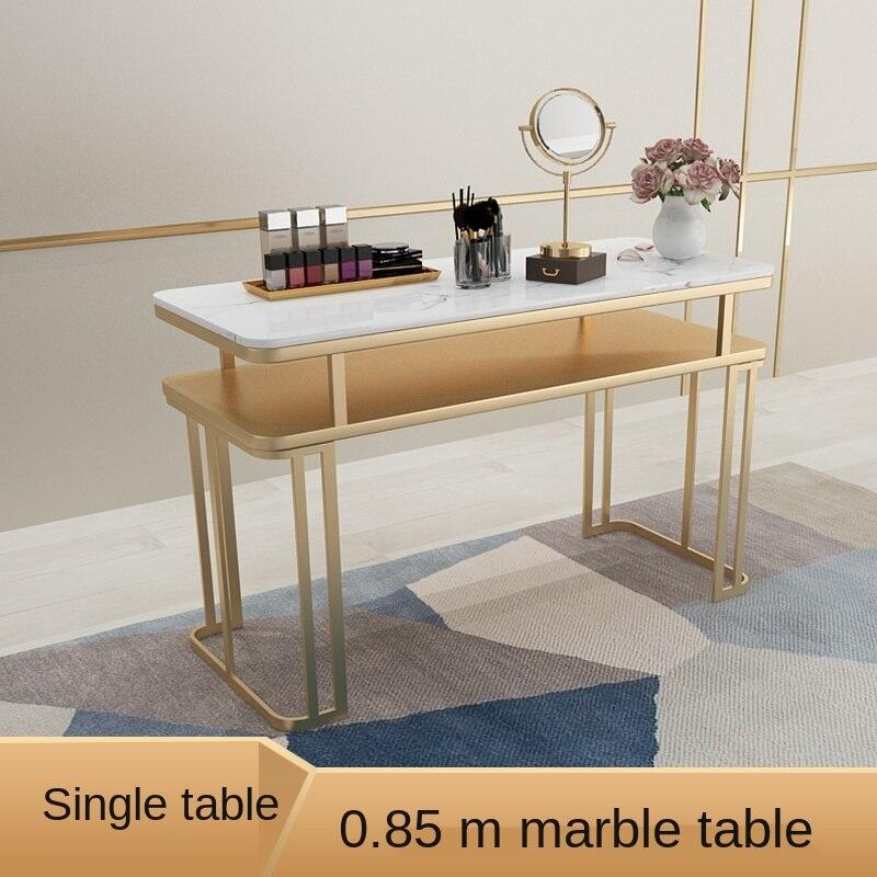Простые профессиональные маникюрные столы, кованые железные простые столы для ногтей, мультиплеерский мраморный материал, регулируемые