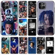 XXXTENTACION – Coque arrière souple en TPU pour iPhone, compatible modèles 6, 6S, 7, 8, 11 Pro, X, XS Max, XR, SE 2020