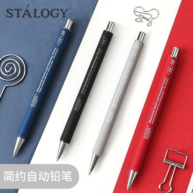 Japan STALOGY S5012 Mechanical Pencil 0.5mm Anti-fatigue Mechanical Pencil Drawing 1PCS