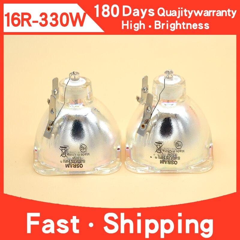 مصباح إضاءة المسرح 16R 330w R16 330W ، رأس متحرك ، لمبة led 16R 330 ، نموذج بديل لمصباح الشعاع