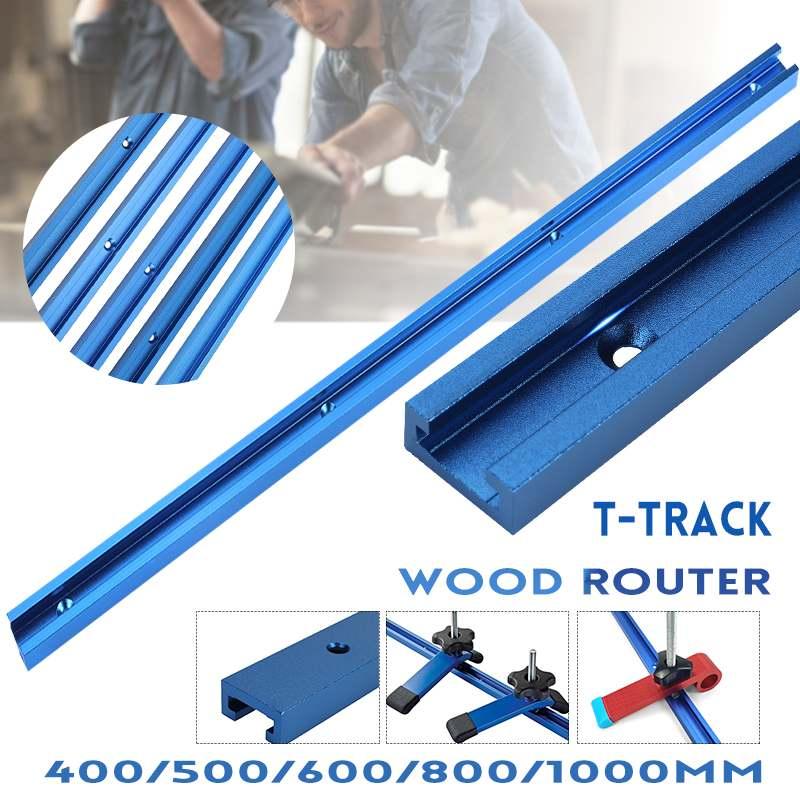 Inglete de aleación de aluminio para carpintería, barra deslizadora de inglete de...