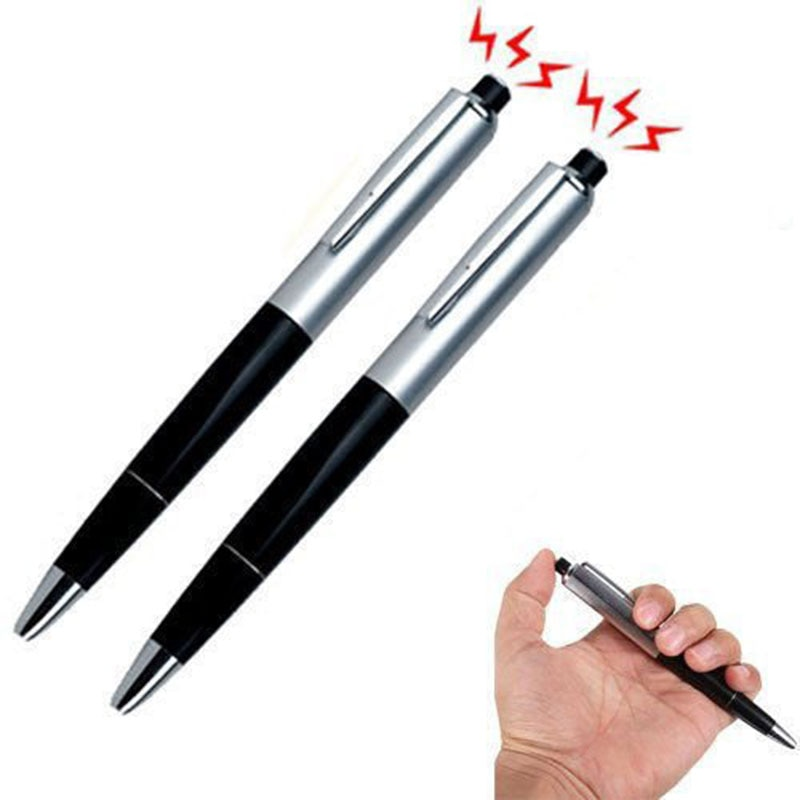 Electric Shock Pen Toy Fun Writable Ball Point Pen Utility Gadget Gag Joke Funny Prank Trick Novelty Friend's Best Gift