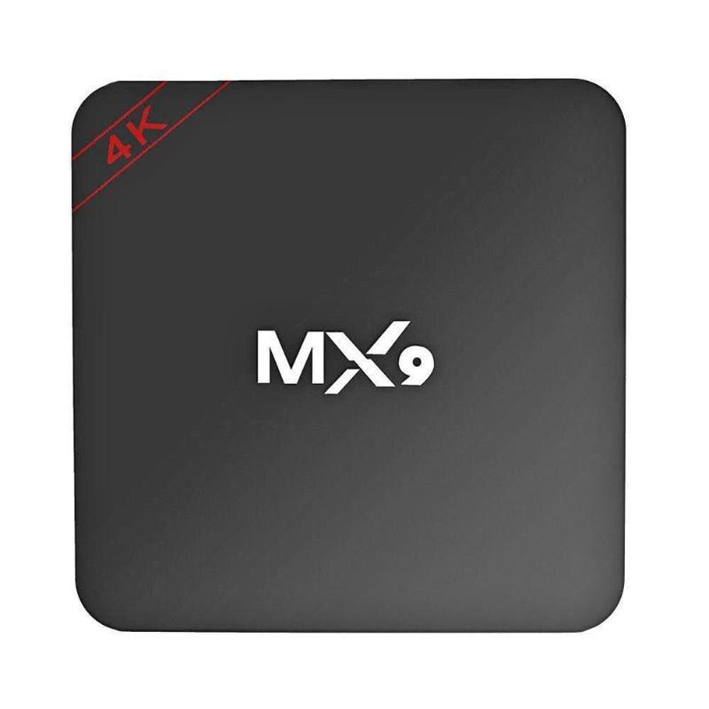 MX9 4K Quad Core 8 1GB de RAM GB ROM Android 4.4 CAIXA DE TV 2.0 HD HDMI SD Slot 2.4GHz WiFi Set Top Box Media Player