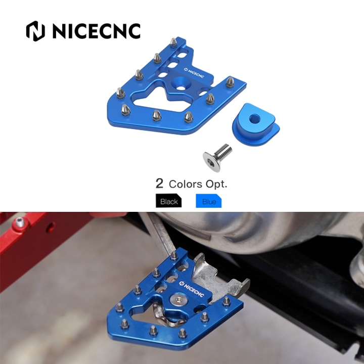 NICECNC ATV Brake Pedal Lever Tip Plate For YAMAHA RAPTOR 700 2013-2020 700R 2016-2020 700R SPECIAL EDITION 2013-2016 2018-2020