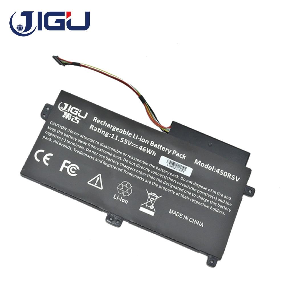 JIGU محمول بطارية لأجهزة سامسونج Np470 AA-PBVN3AB NP51OR5E 1588-3366 np450r5e NP510R5E Np510 NP370R5E Ba43-00358a NP370R4E