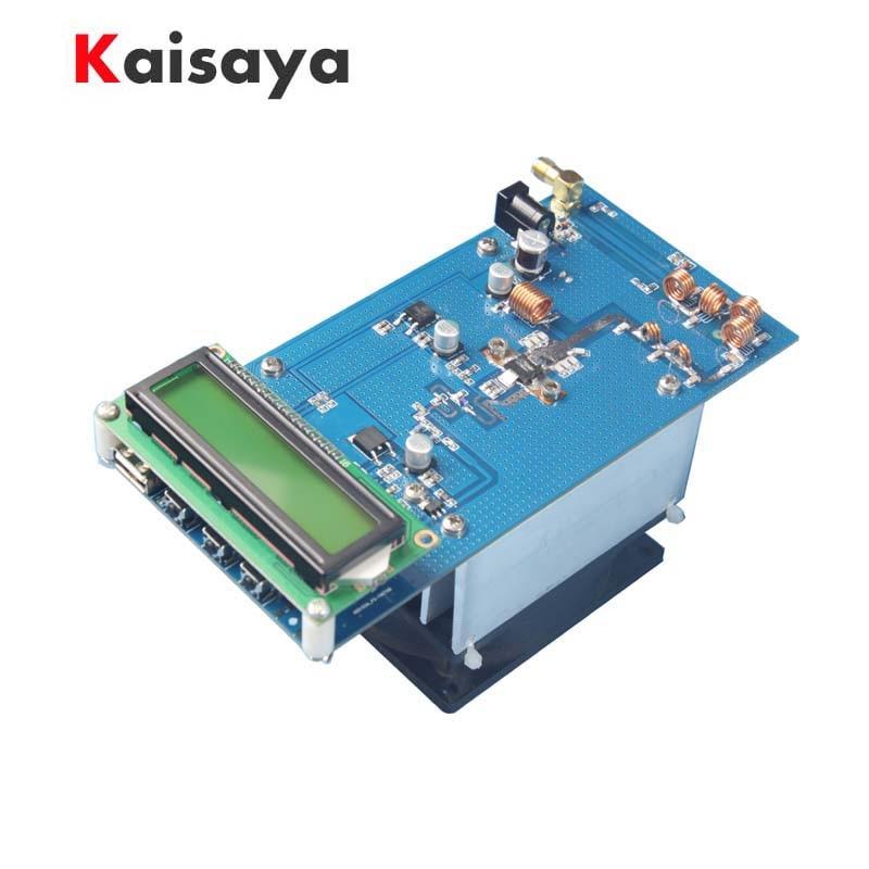 50W 87.5M-108MHz 12-13.8V PLL ستيريو FM الارسال أقصى إلى 70W LED الرقمية راديو محطة وحدة مع غرفة التبريد مروحة H4-002
