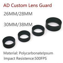 Tactical M300 M600 X300 X300V Protector MRO SRO Hunting Weapon light LED Flashlight AD Custom Lens G