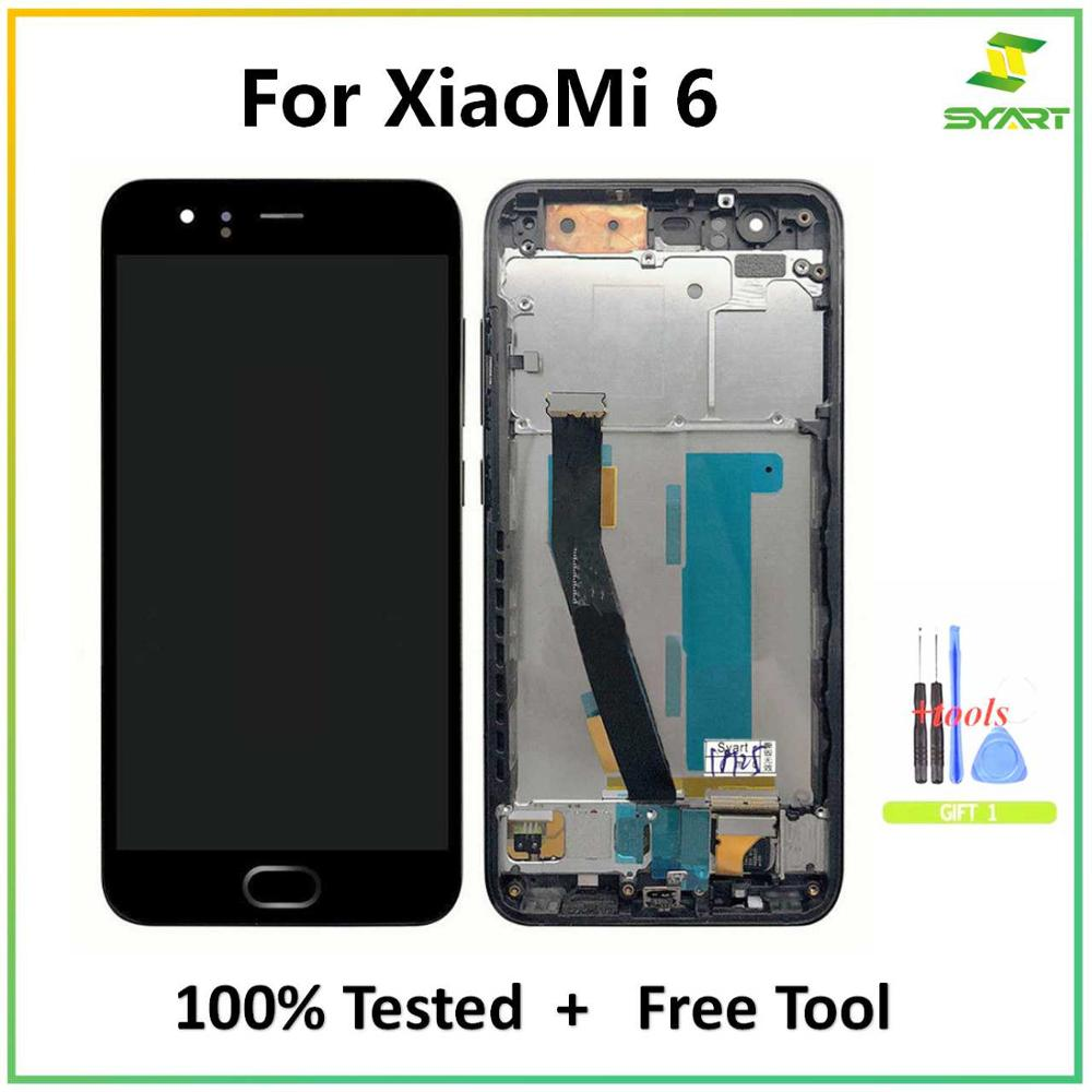 LCD Display For Xiaomi 6 Mi 6 Mi6 LCD Display With Touch Screen Digitizer Assembly 5.15