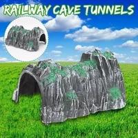 simulation cave scene model plastic track train tunnel accessories decor scene table diy cave crafts sand miniatures stone v2t6