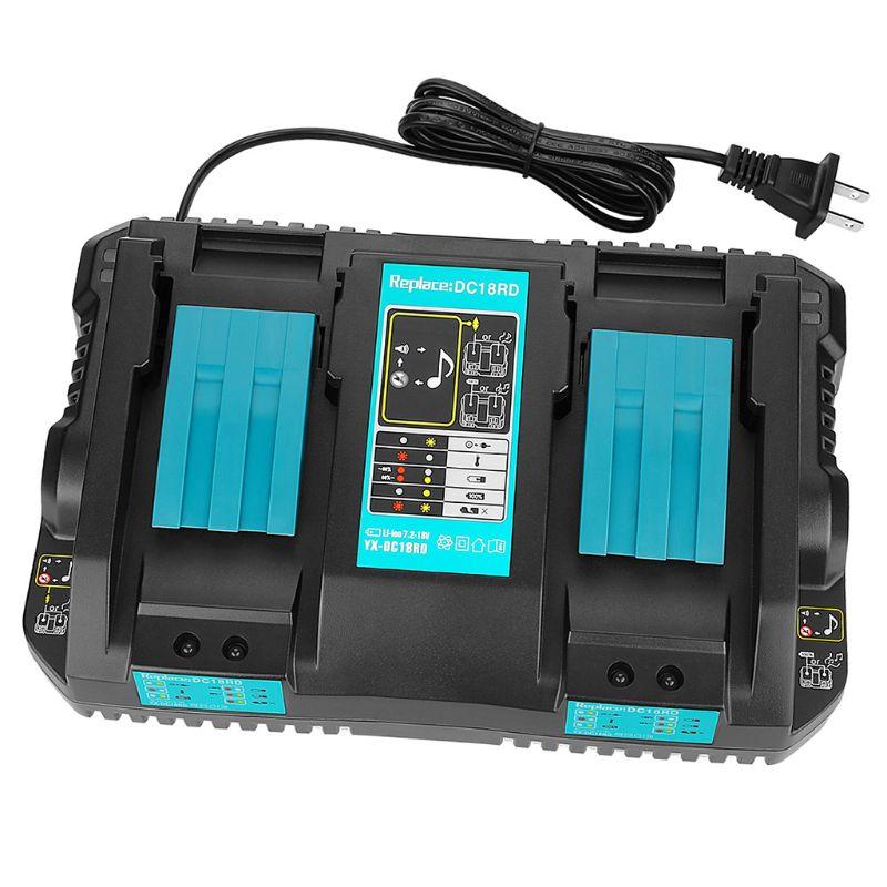Cargador de batería corriente de carga DC18RD 14V para herramienta eléctrica alternativa Makita