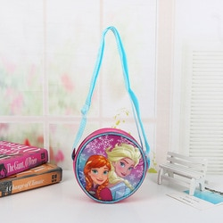 Disney nova eisa anna cães wangwang equipe joaninha rosa crianças crossbody saco bolsa de ombro saco pequeno dinheiro bolsas