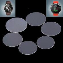 Couverture universelle ronde de protecteur décran de Film de verre trempé pour des montres intelligentes Smartwatch accessoires intelligents