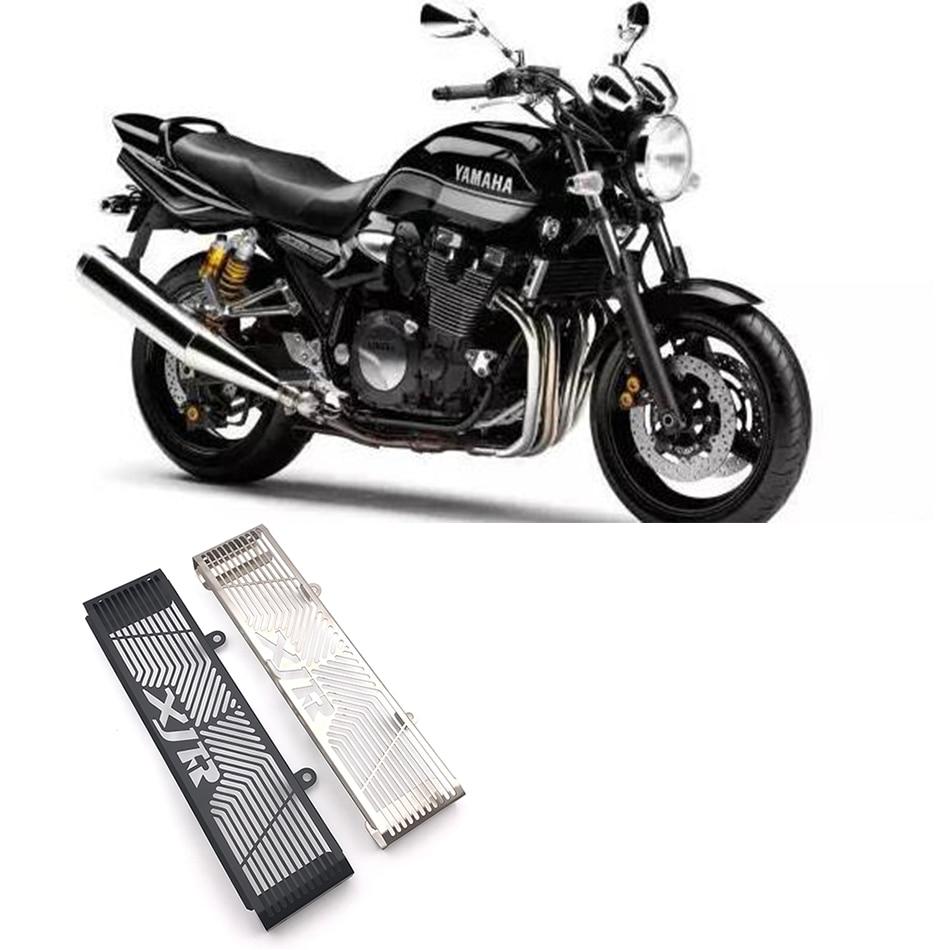 Protector de radiador de motocicleta cubierta con rejilla protectora cubierta protectora refrigerada para YAMAHA XJR1300 XJR 1300 1999-2010